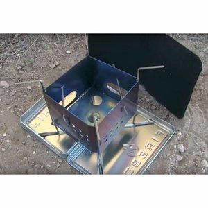 "Firebox 3"" Stainless Steel Nano Stove Kit"