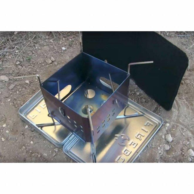 "3"" Stainless Steel Nano Stove Kit"