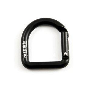 Casstrom D-Ring Karabiner - Zwart
