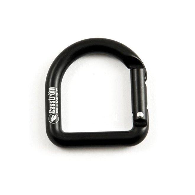 D-Ring Karabiner - Zwart