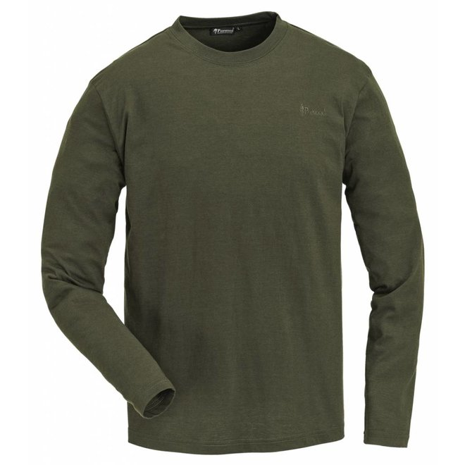 Long Sleeve 2 - Pack T-Shirt - Green (7447)