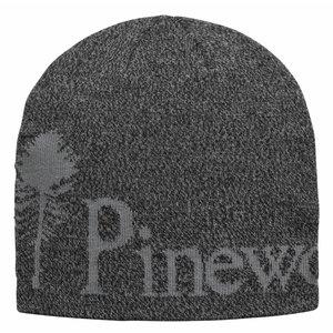 Pinewood Melange Muts - Zwart/ Grijs