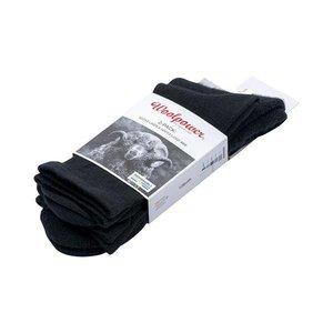 Woolpower 2-Pack: Liner Sock / Sock 400 - Zwart