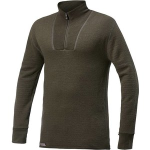 Woolpower Merino Base Layer Zip Turtleneck 200