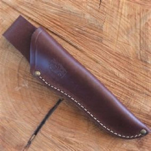 TBS Outdoor Leather Standard Brown Knife Sheath
