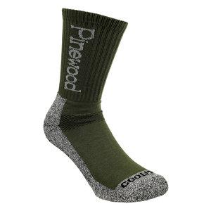 Pinewood Coolmax Socks 2-paar - Olive