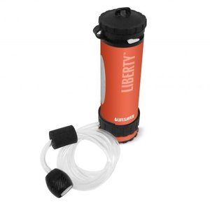 Lifesaver Liberty 2000 Oranje - Drinkfles met waterfilter
