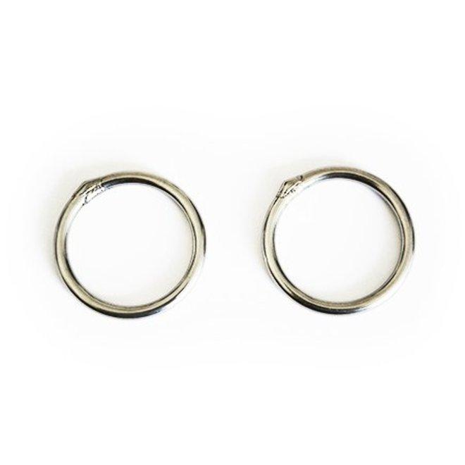 Steel Hammock Rings
