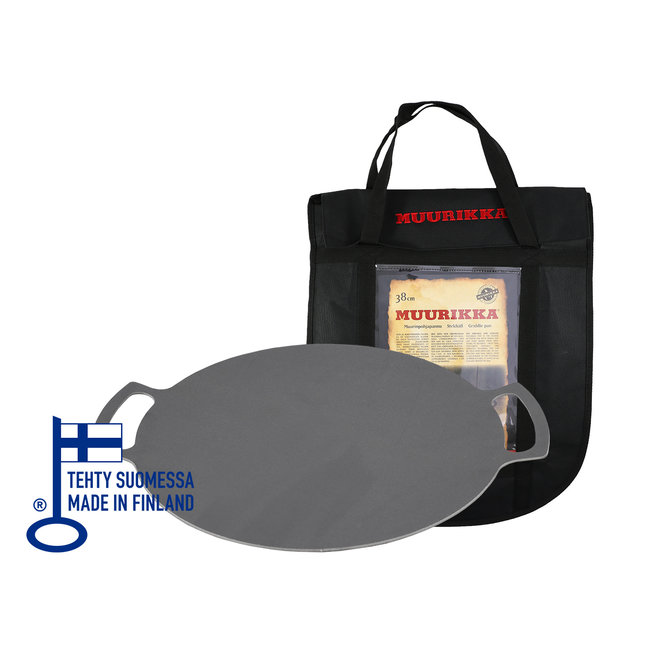 Griddle Pan - Grillplaat met Coverbag - 38 cm