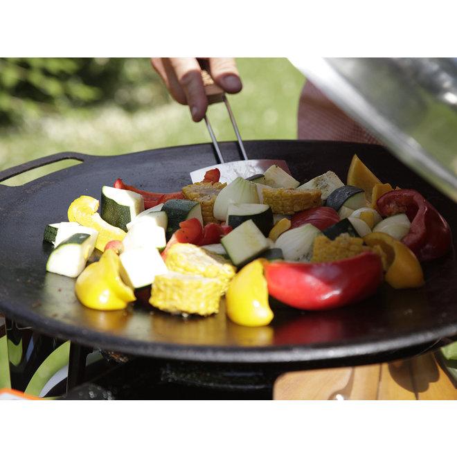 Griddle Pan - Grillplaat met Coverbag - 48 cm