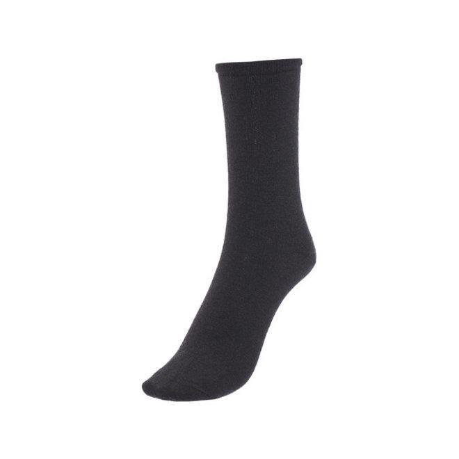 Merino Sokken Liner Classic Lite - Zwart