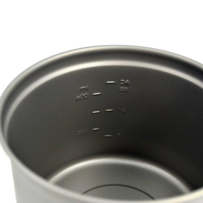 Titanium 900ml Pan - 11,5cm Diameter