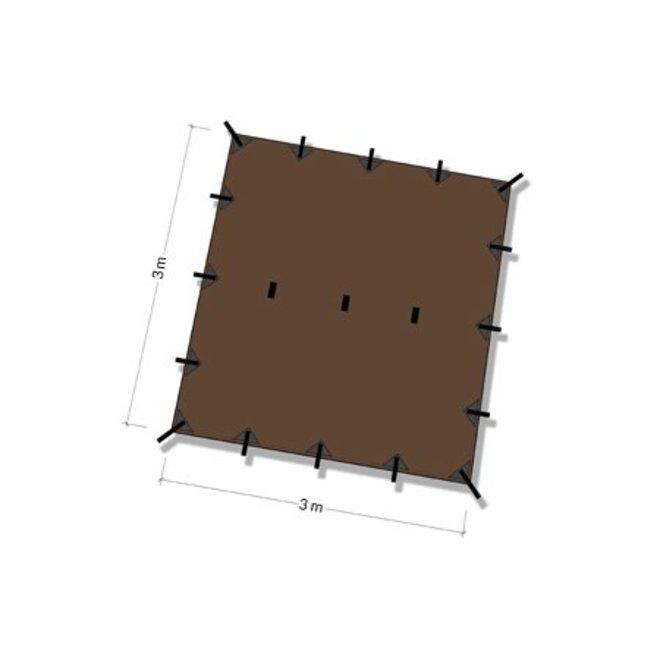 Tarp 3x3 – Coyote Brown