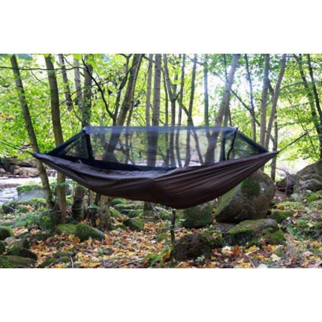 Travel hangmat/Bivi – Coyote Brown