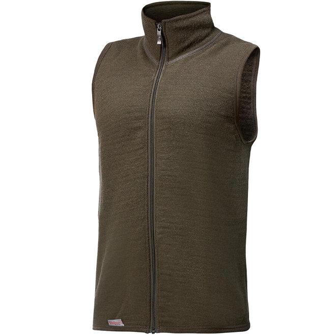 Merino Mid Layer Vest 400 - Pine Green