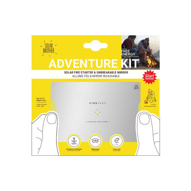 AdventureKit - Onbreekbare spiegel met Firecard