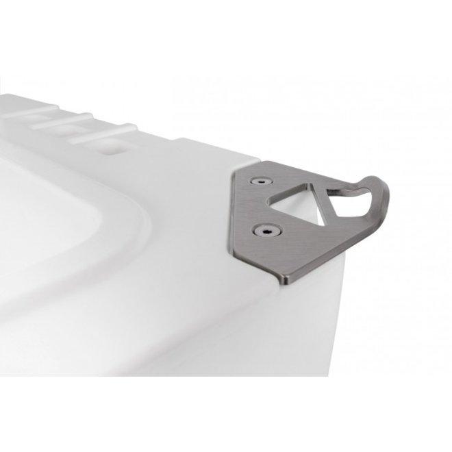 Koelbox Locking Plate en flesopener