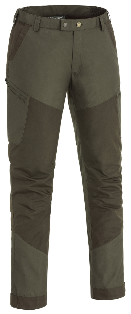 Tiveden Insect-Stop Trousers - Dark Olive / Suede Brown (5017)