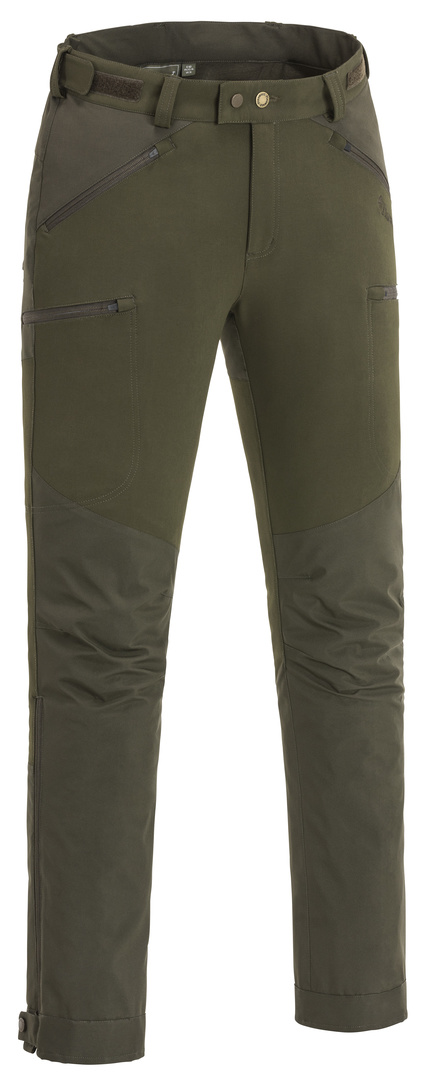 Brenton Trousers - Dark Olive / Suede Brown (5402)