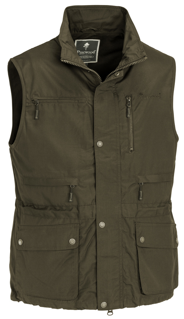 New Tiveden/Wildmark Vest - Dark Olive (9288)