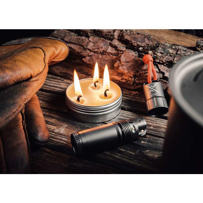 CandleTIN Large Hot Burn