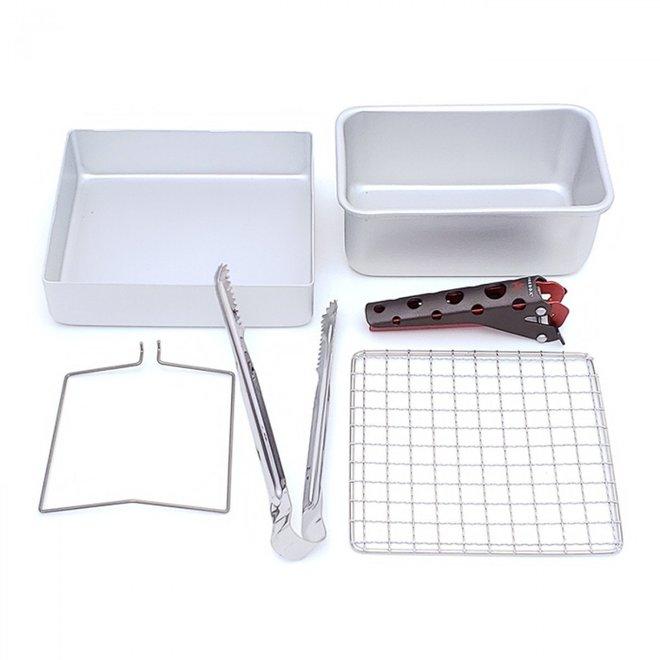 16 Cm Zebra Baking Kit