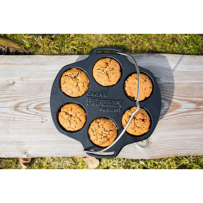 Gietijzeren Muffin Bakvorm