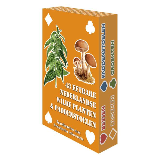 Wilderniskaarten - Eetbare Planten en Paddenstoelen