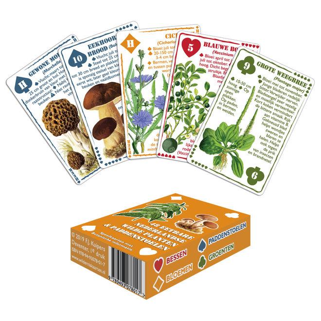 Wilderniskaarten Duo Pack - Wildernis & Eetbare Planten en Paddenstoelen