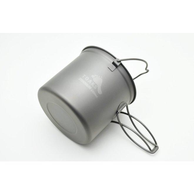 Titanium 1100ml Pan - Met hengsel en handgreep