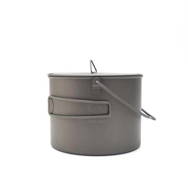 Titanium 1300ml Pan - Met Hengsel