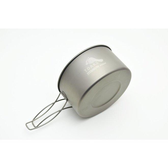 Titanium 900ml Pan - 13cm Diameter