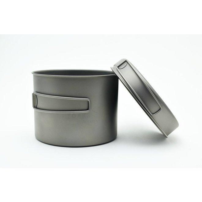 Titanium 1300ml Pan - Multifunctioneel deksel