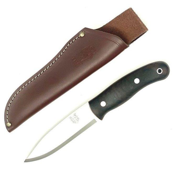 Boar Bushcraft Knife-Turkish Walnut-Standard Sheath