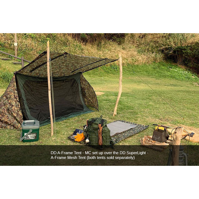Superlight A-Frame Mesh Tent