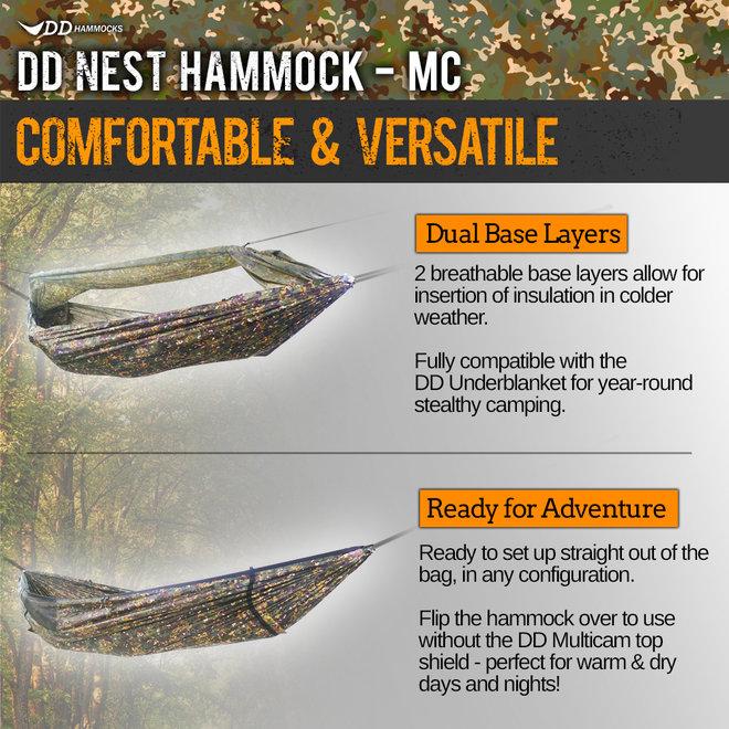 Nest Hammock - Multicam