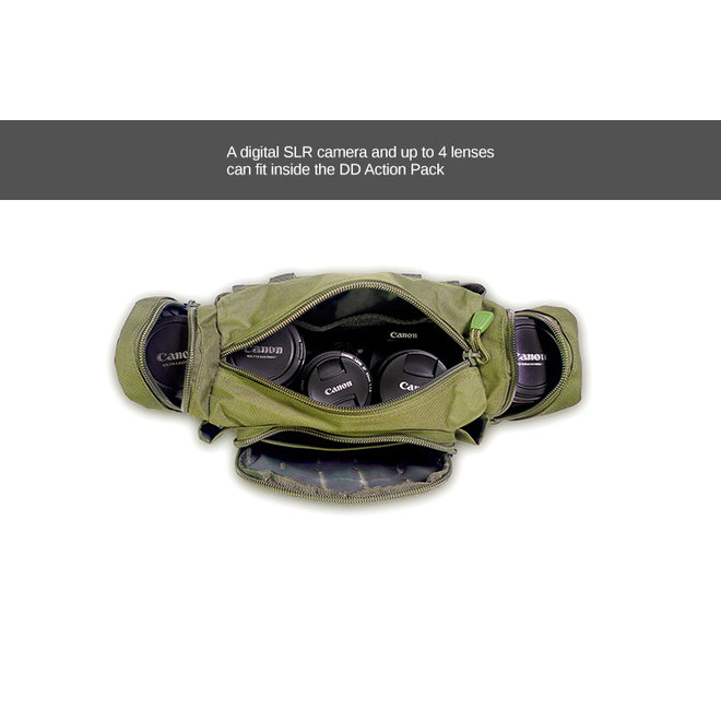 Action Pack - Olive Green