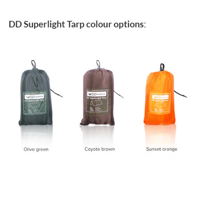 Superlight Tarp - Sunset Orange