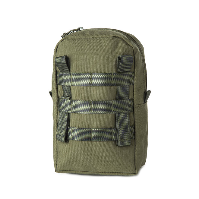 Vertical Pouch - Olive - M