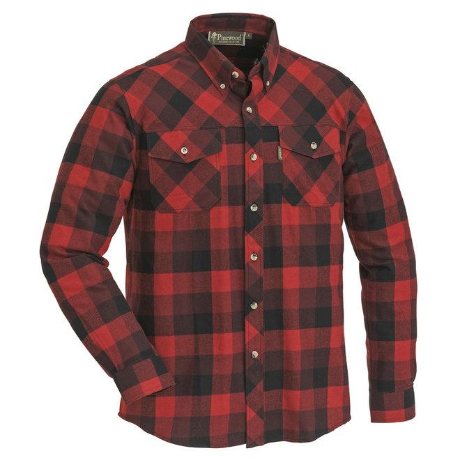 Lumbo - Shirt - Rood/Zwart