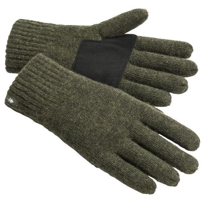 Wollen Handschoenen - Mossgreen Melange (1122)