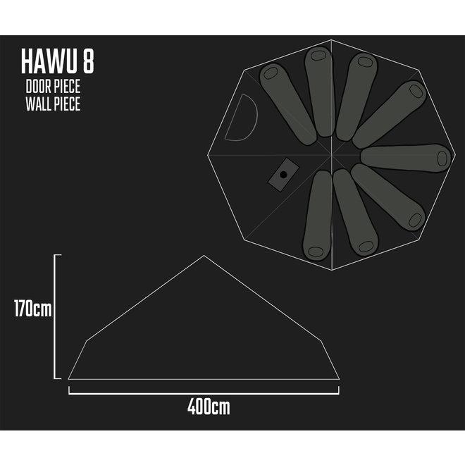 Camp Tent-HAWU  8-Extension Piece/Tussen Deel