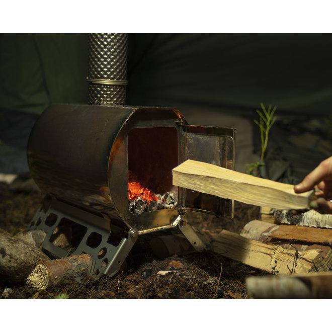 Savotta HAWU Wood Stove Tent Kachel Bushcraftshop.nl