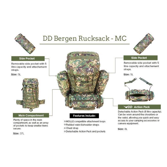 Bergen Rucksack - Multicam