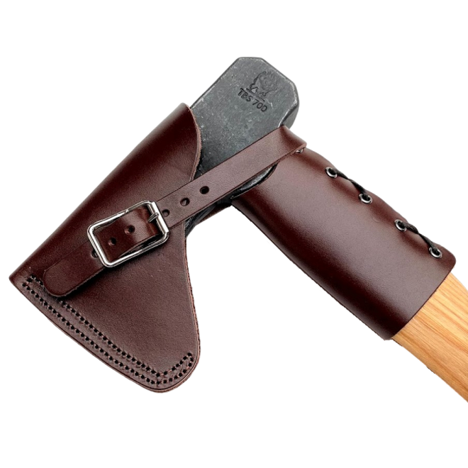 Sherwood Small Forest Axe met schede en Overstrike Guard