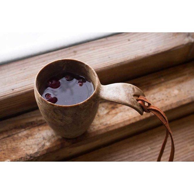 5 Snaps / borrel kopje - Cranberry (rood)