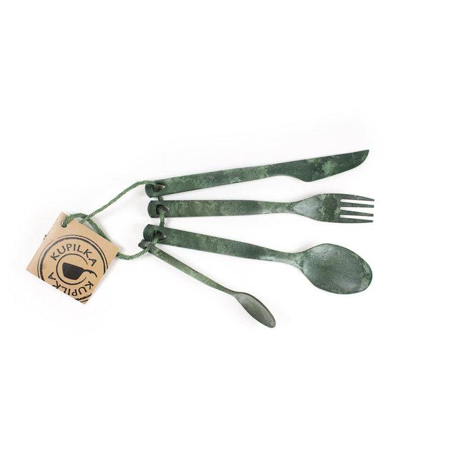25 - Bestekset-Conifer (groen)