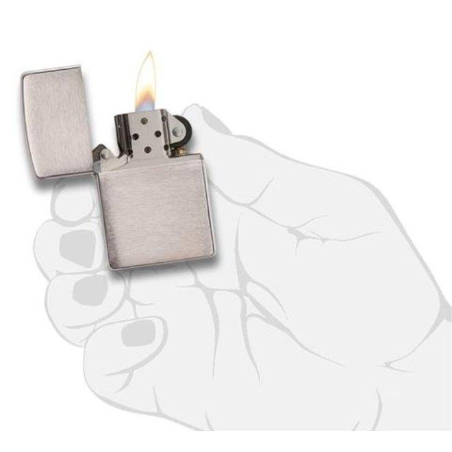 Aansteker - Mat Verchroomd