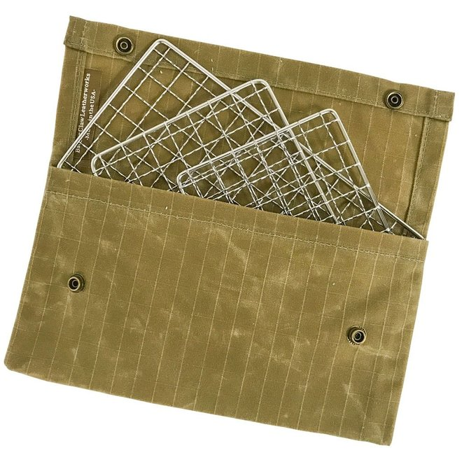 Waxed Canvas Grill Pouch