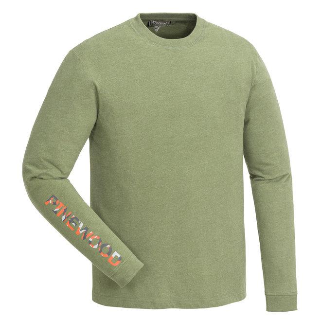 Bolmen Longsleeve T-Shirt - Leaf Melange (5446)